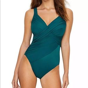 Miraclesuit Nile Revelle One Piece Swimsuit